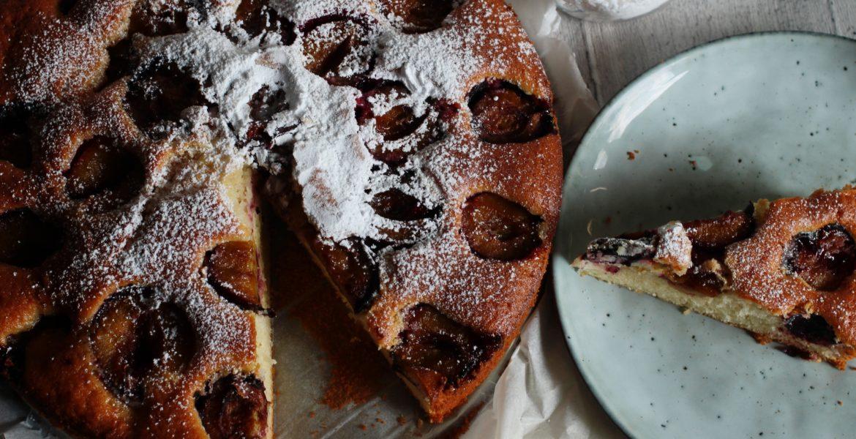 Najłatwiejsze ciasto w świecie – ze śliwkami