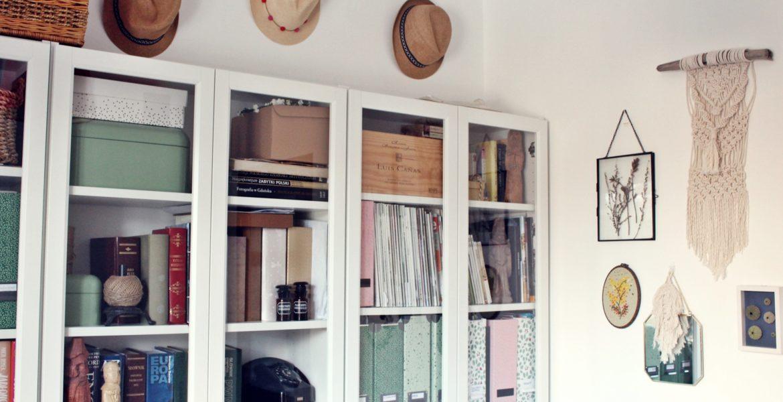 Domowe biuro po metamorfozie